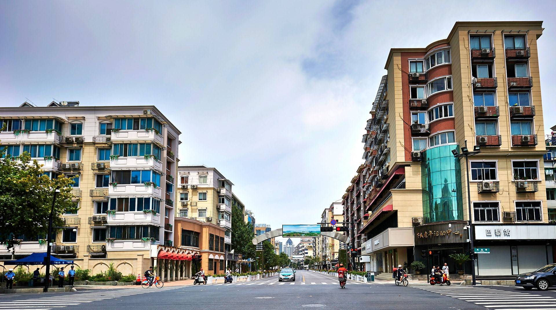 """下城区""""美丽杭州""""武林路道路周边立面提升工程"""