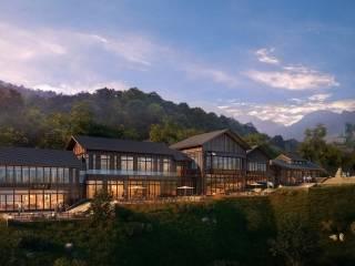 中國蘭溪越龍谷國際旅游度假中心項目越龍城、正觀寺景區入口區域工程方案設計