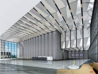 嘉兴迦南美地广场1#楼公共区域精装室内装修设计