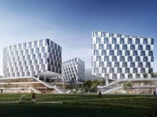 双桥(云谷)单元XH0205-20地块个推总部大楼新建项目