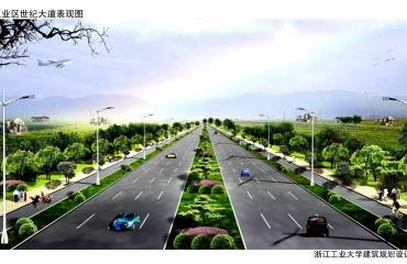 萧山区临江工业区世纪大道工程