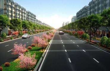 萧山区通惠路(通宁立交-机场路)整治工程