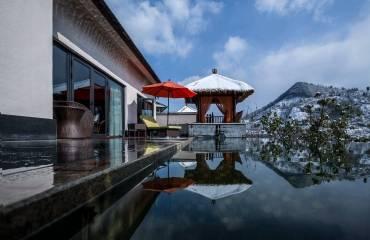 杭州臨安湍口眾安氡溫泉度假酒店