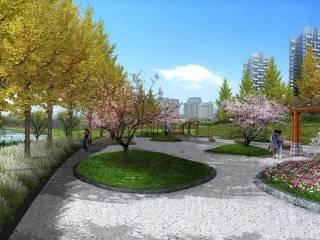 江西鹰潭市白露河沿河景观设计