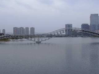 绍兴迪荡梅龙湖人行桥改造工程