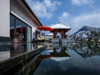杭州临安湍口众安氡温泉度假酒店