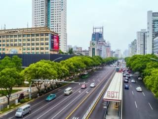 车站大道两侧景观改造提升工程